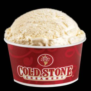 Ice cream cold stone