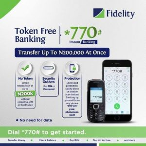 Fidelity Bank Transfer Code