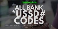 All Nigerian banks USSD code to check your account balance on phone
